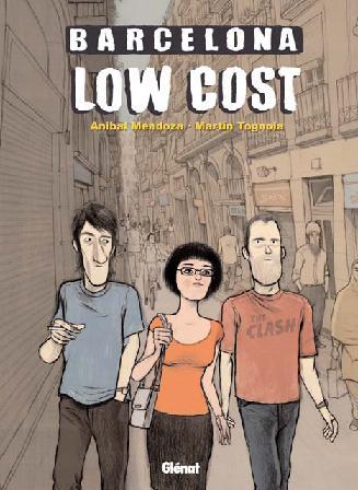Portada del cómic Barcelona Low Cost