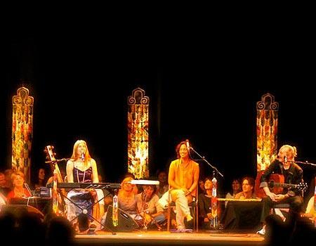 Deva Premal & Miten en concierto