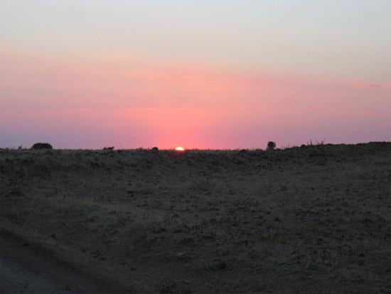 Sol de agosto