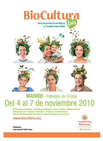 Cartel de BioCultura Madrid 2010