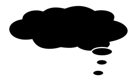 Bocadillo de pensamiento (de cómic)
