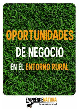 Oportunidades de negocio en el entorno rural (portada del PDF)