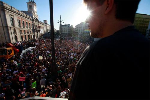 Manifestación Democracia Real Ya (Puerta del Sol de Madrid, 15 de mayo de 2011)