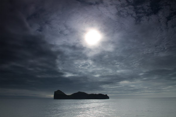 Islote en Islandia