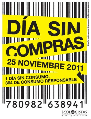 Día sin compras (25 de noviembre del 2011): Un día sin compras, 364 de consumo responsable