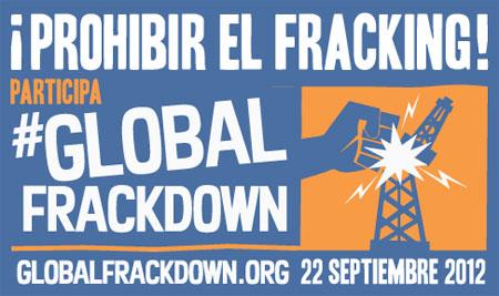 ¡Prohibir el fracking! Participa.