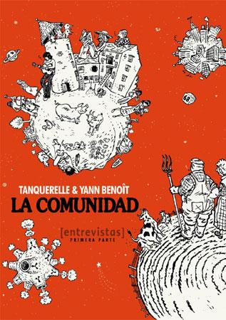 Portada del cómic La comunidad, de Hervé Tanquerelle y Yann Bennoît