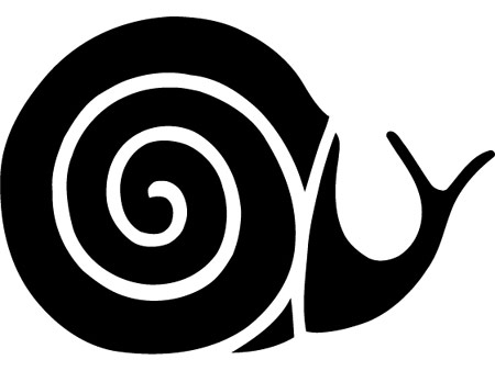 El caracol del logotipo de Slow Food