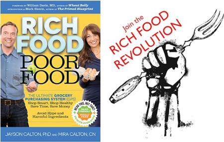 Rich Food Poor Food (join the rich food revolution)