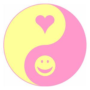 Portada de Amor y Humor de Eduardo Jáuregui (yin y yang)